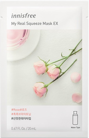 innisfree My Real Squeeze Mask EX - Rose