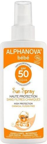 ALPHANOVA Bebe Sun Spray 50 SPF