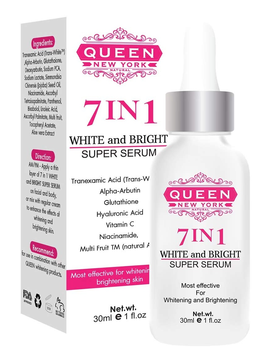 Queen Natural New York 7 In 1 Super Brightening Serum