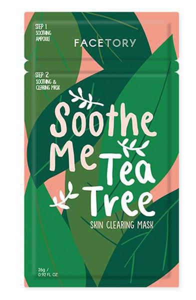 Facetory Soothe Me Tea Tree 2-Step Mask