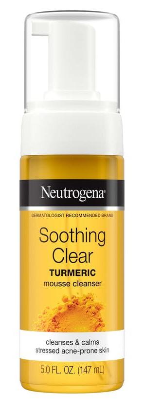 Neutrogena Curcuma Clear Mousse Clenser