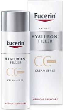 Eucerin Hyaluron Filler Cc Cream Light Spf15