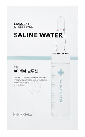 Missha Mascure AC Care Solution Mask - Saline Water