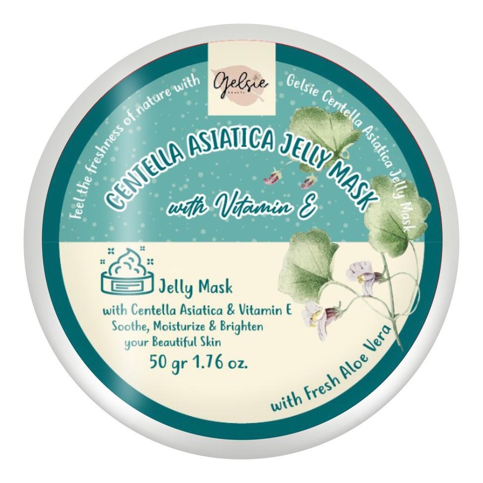 Gelsie Centella Asiatica Jelly Mask