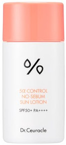 Dr Ceuracle 5 Alpha Control No Sebum Sun Lotion