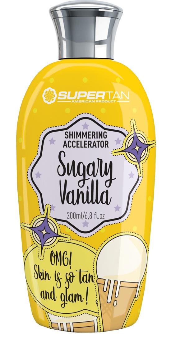 SUPER TAN Sugary Vanilla- Shimmering Accelerator