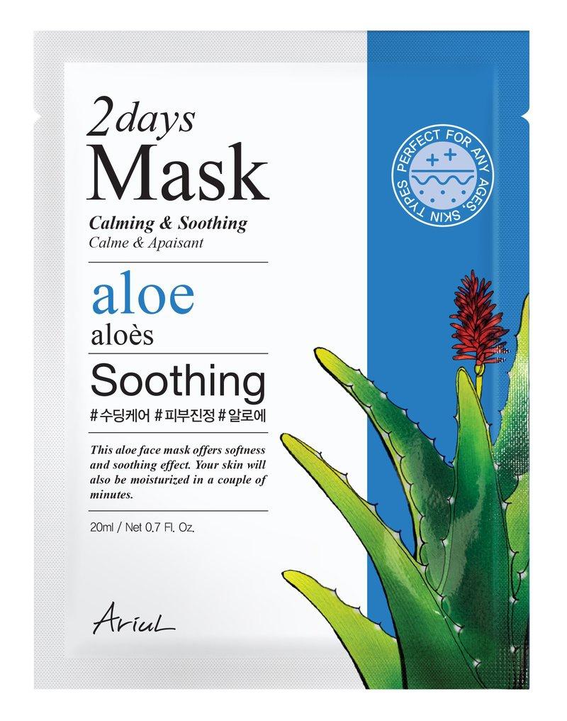 Ariul 2 Days Mask Aloe Calming & Soothing
