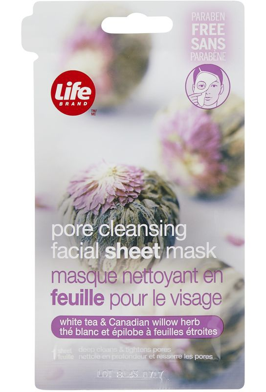 Life Brand Pore Cleansing Facial Sheet Mask