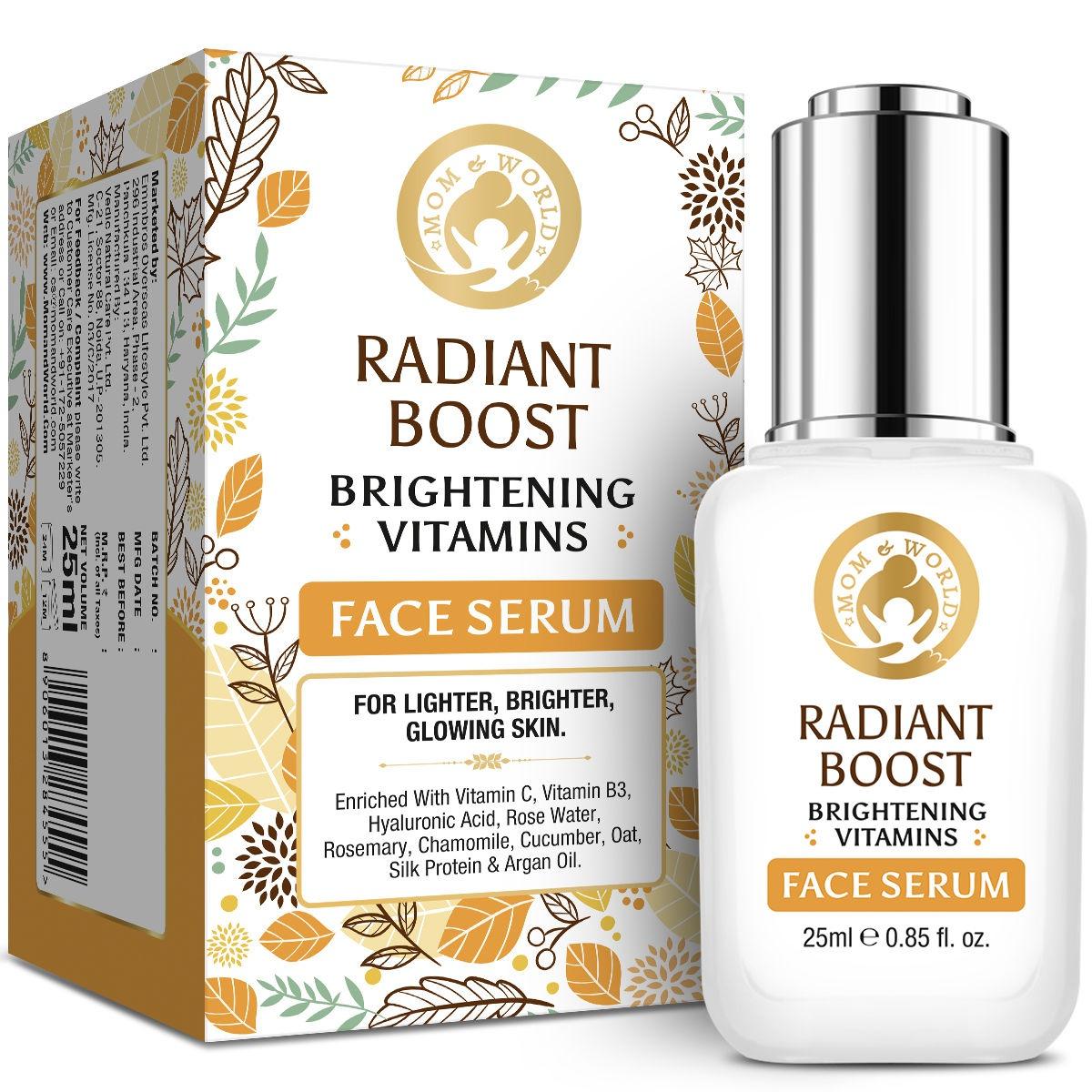 Mom and World Radiant Boost Brightening Vitamins Face Serum