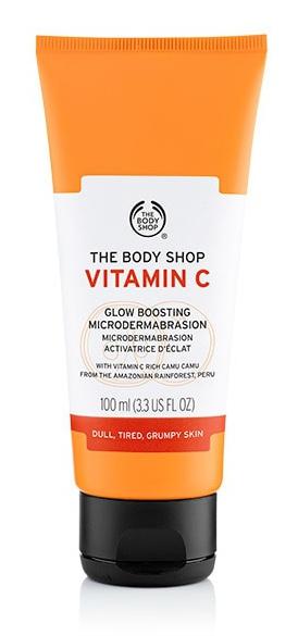 The Body Shop Vitamin C Glow Boosting Microdermabrasion