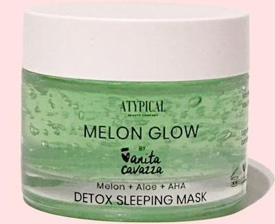 Atypical Melon Glow Detox Sleeping Mask