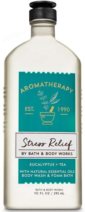 Bath & Body Works Aromatherapy Stress Relief Body Wash & Foam Bath