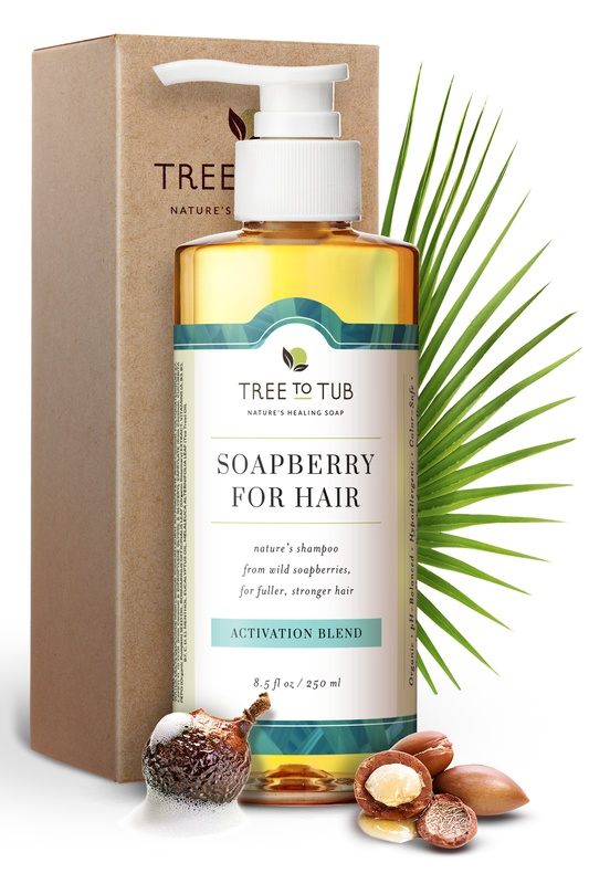 Tree to Tub Soapberry Shampoo For Fuller Hair