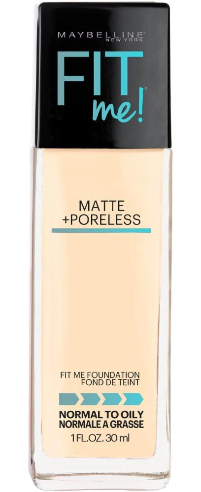 Maybelline Fit Me+Poreless Matte Foundation