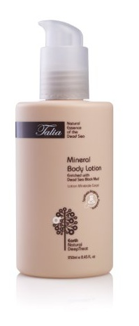 Talia  Mineral Bodylotion enriched with dead sea black mud