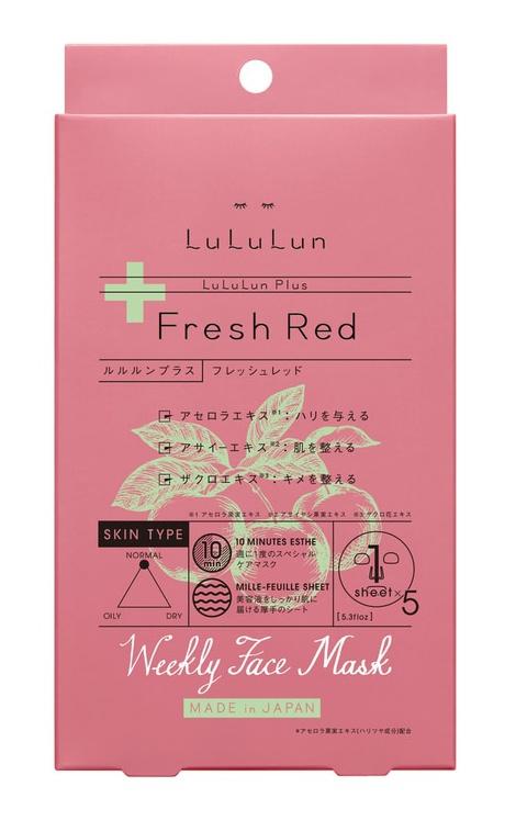 Lululun Plus Mask Fresh Red