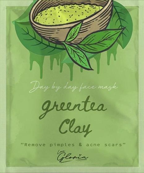LEA  GLORIA Green Tea Clay Face Mask