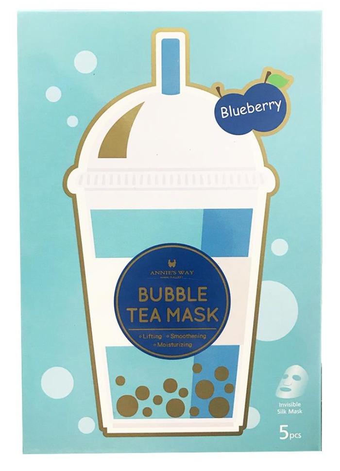 Annie's Way Bubble Tea Mask Blueberry