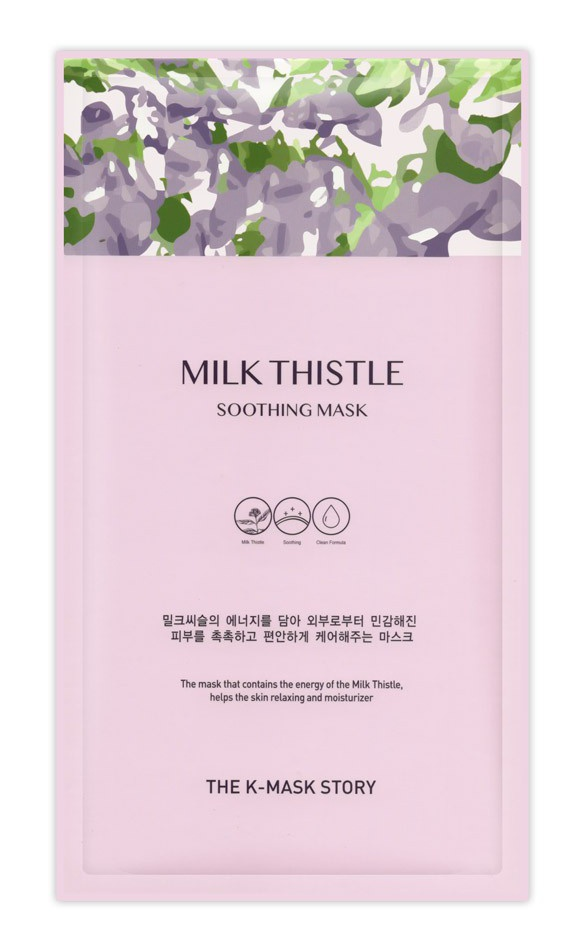 The K-Mask Story Milk Thistle Soothing Mask