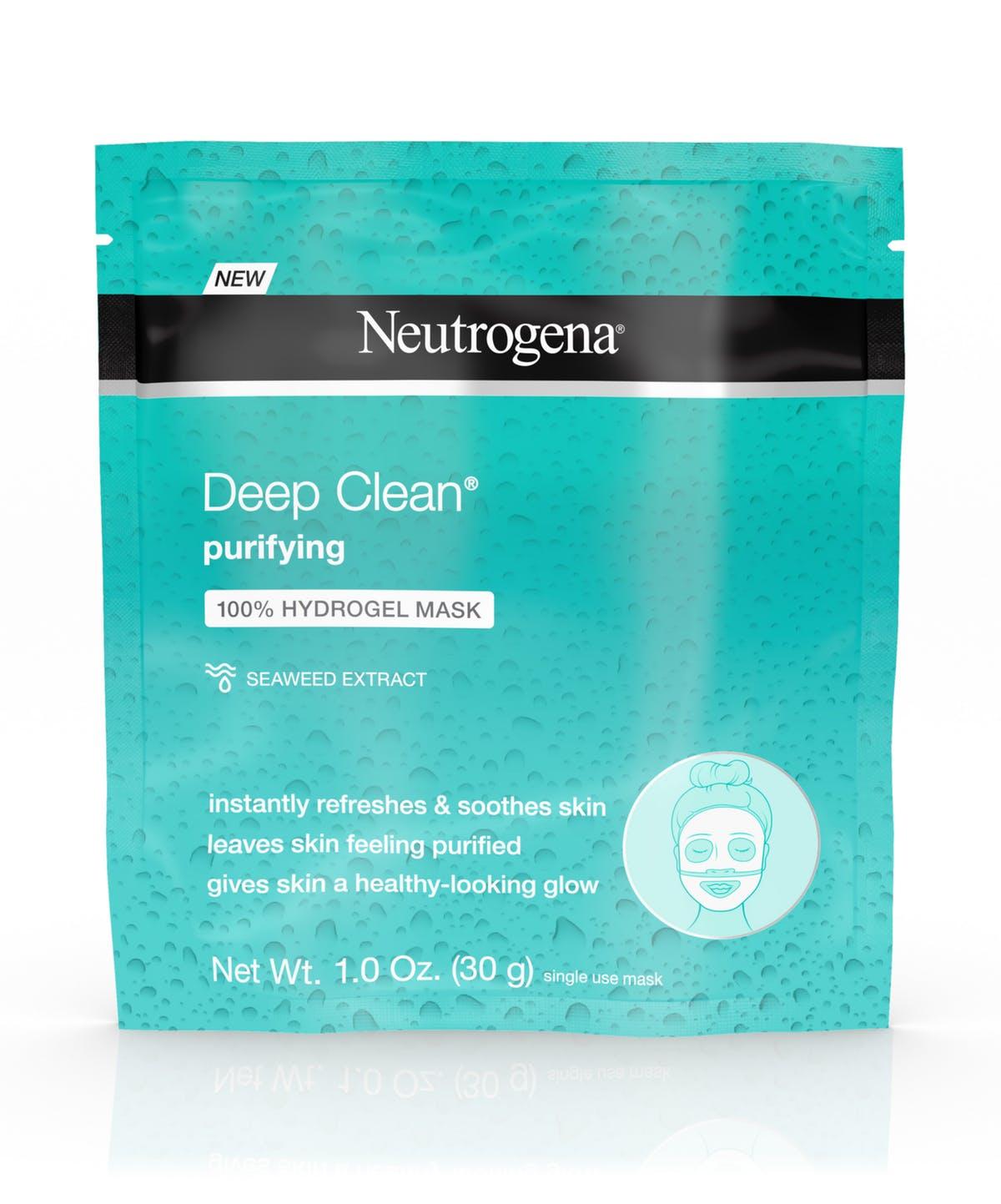 Neutrogena Deep Clean Purifying Hydrogel Face Mask