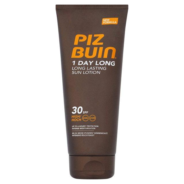 Piz Buin 1 Day Long Lasting Sun Lotion Spf 30