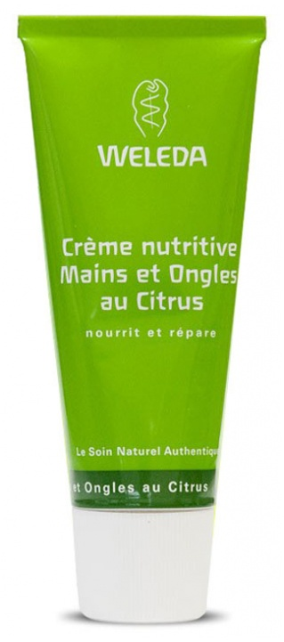 Weleda Nutritive Citrus Hands And Nails Cream