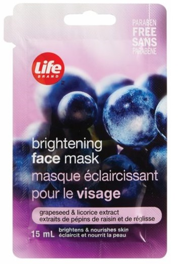 Life Brand Brightening Face Mask