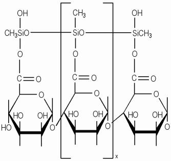 Methylsilanol Mannuronate