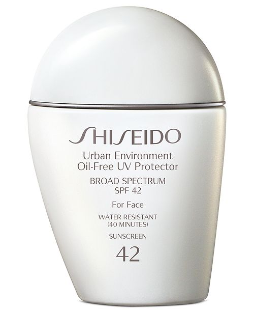 Shiseido Urban Environment Oil-Free Uv Protector Broad Spectrum Face Sunscreen Spf 42