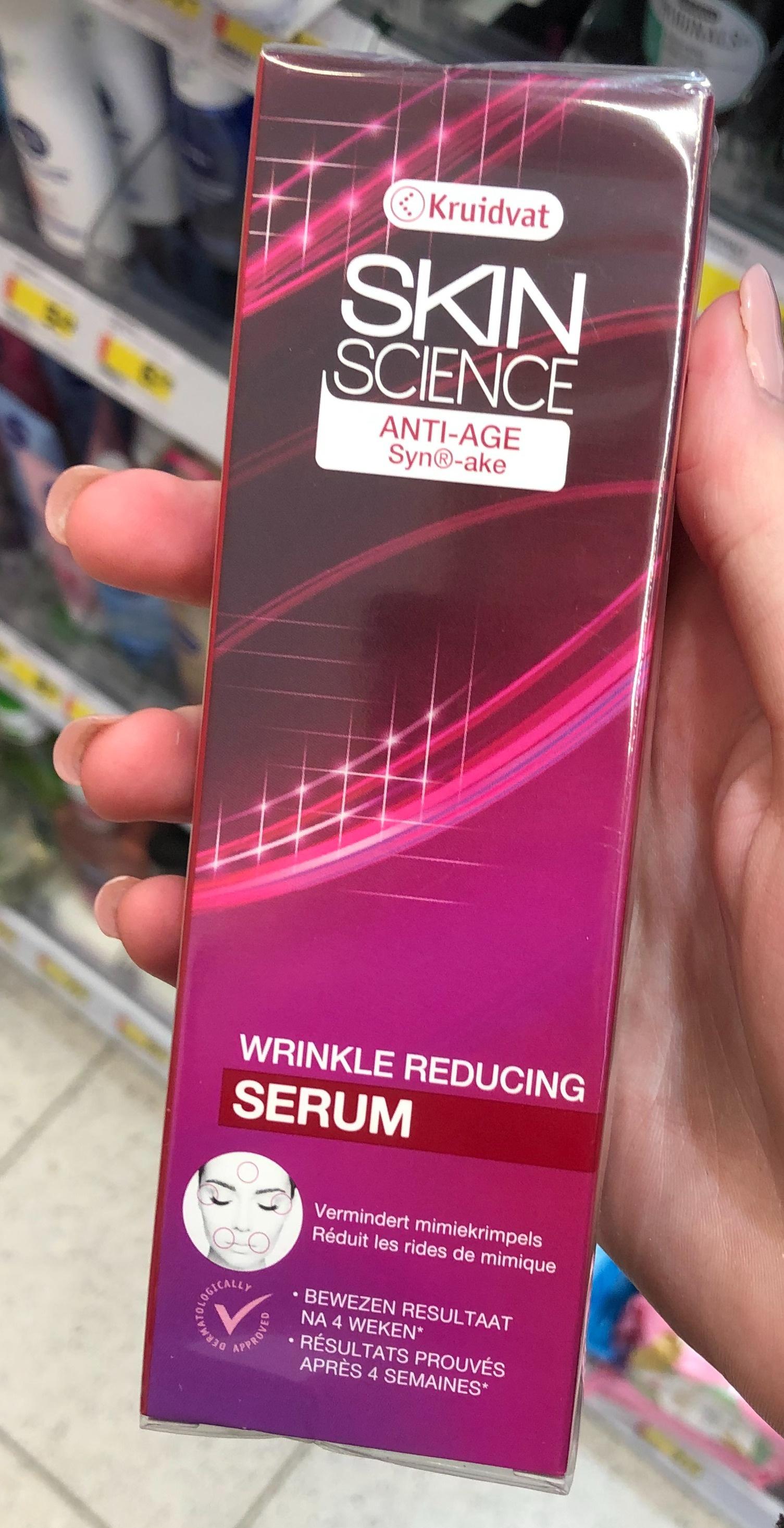 Kruidvat Skin Science Anti Age Wrinkle Reducing Serum