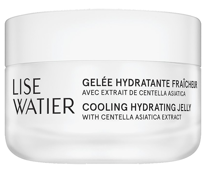 Lise Watier Cooling Hydrating Jelly With Centella Asiatica, Elm And Prickly Pear Extracts
