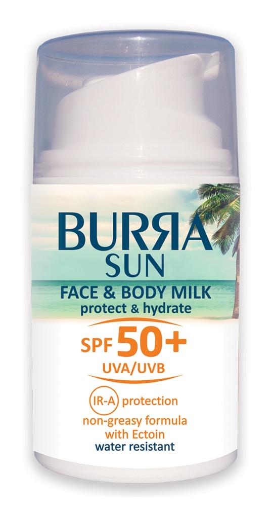 BURЯA Sun Face&Body Milk SPF 50+