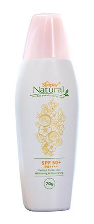 Sunplay Natural Herbal Beauty Sunscreen SPF 50+ Pa++++