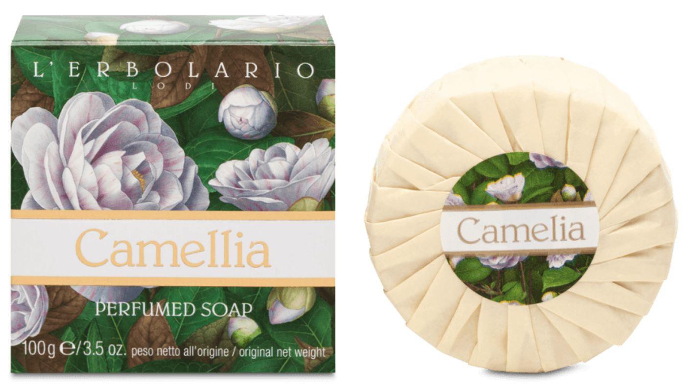 L'Erbolario Profumed Soap Camelia