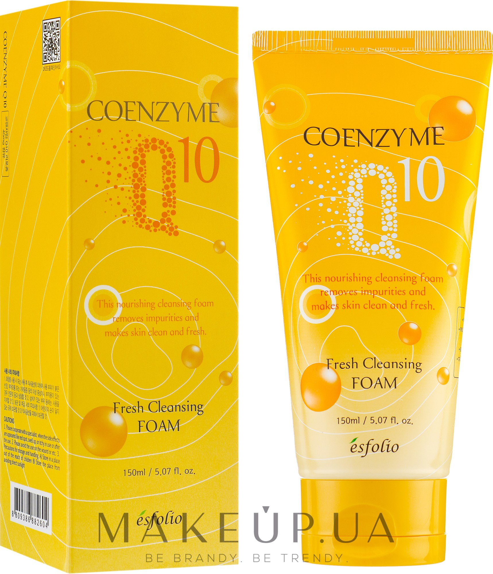 Esfolio Coenzyme Q10 Fresh Cleansing Foam