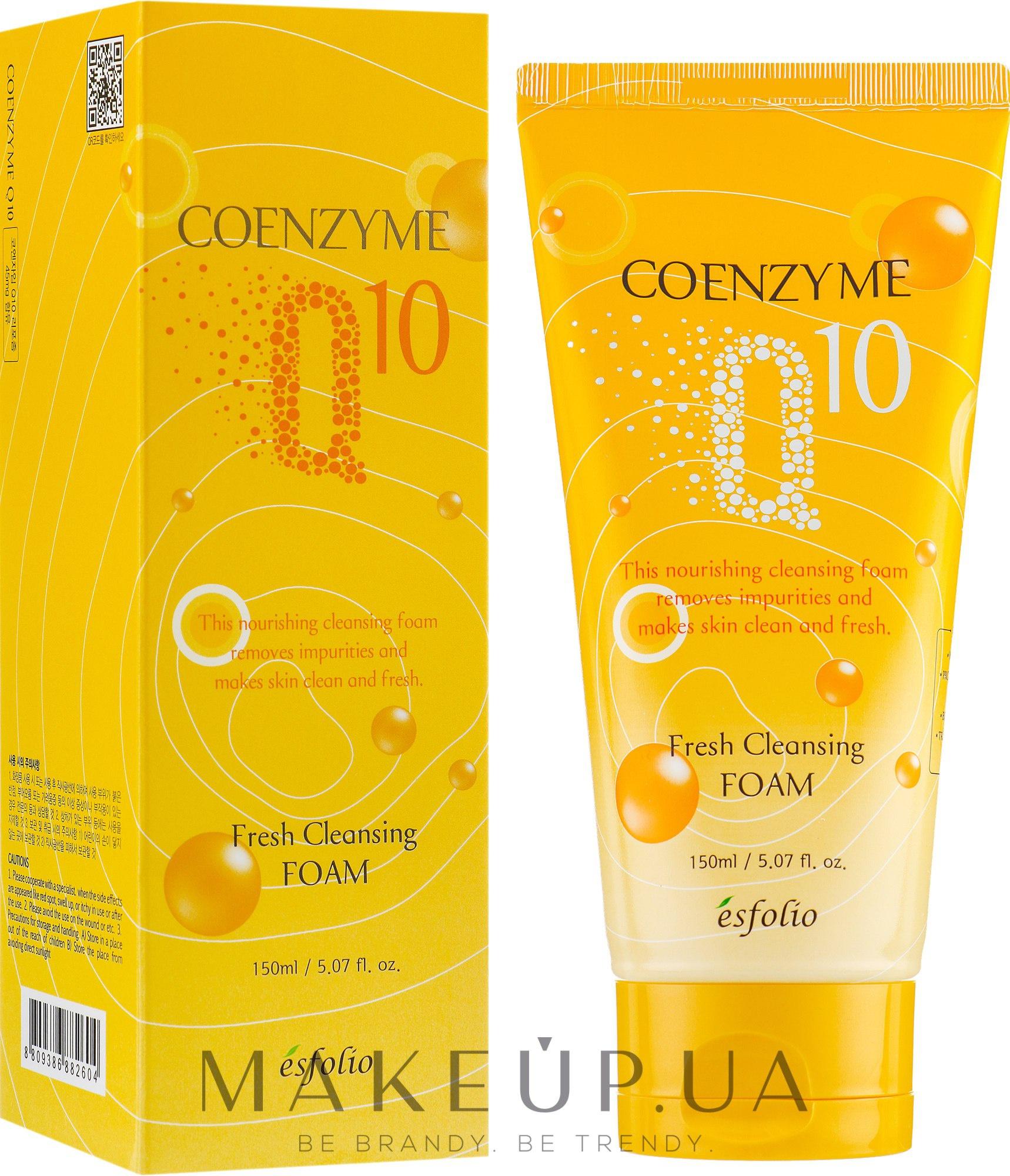 Esfolio Coenzyme Q10 Fresh Cleansing Foam