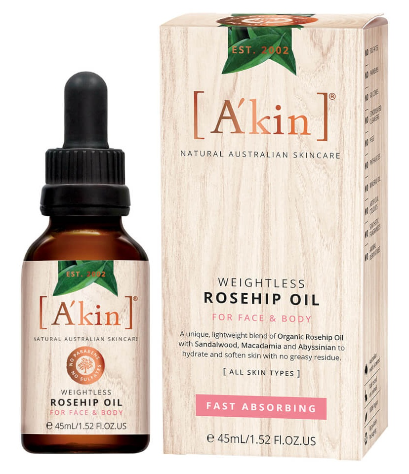 A'KIN Weightless Rosehip Oil