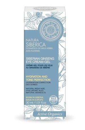 Natura Siberica Siberian Ginseng Eye Cream-Gel, Moisturising