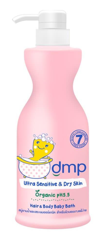 DMP Organic Ph 5.5 Hair And Body Baby Bath Ultra Mild&Sensitive Dry Skin