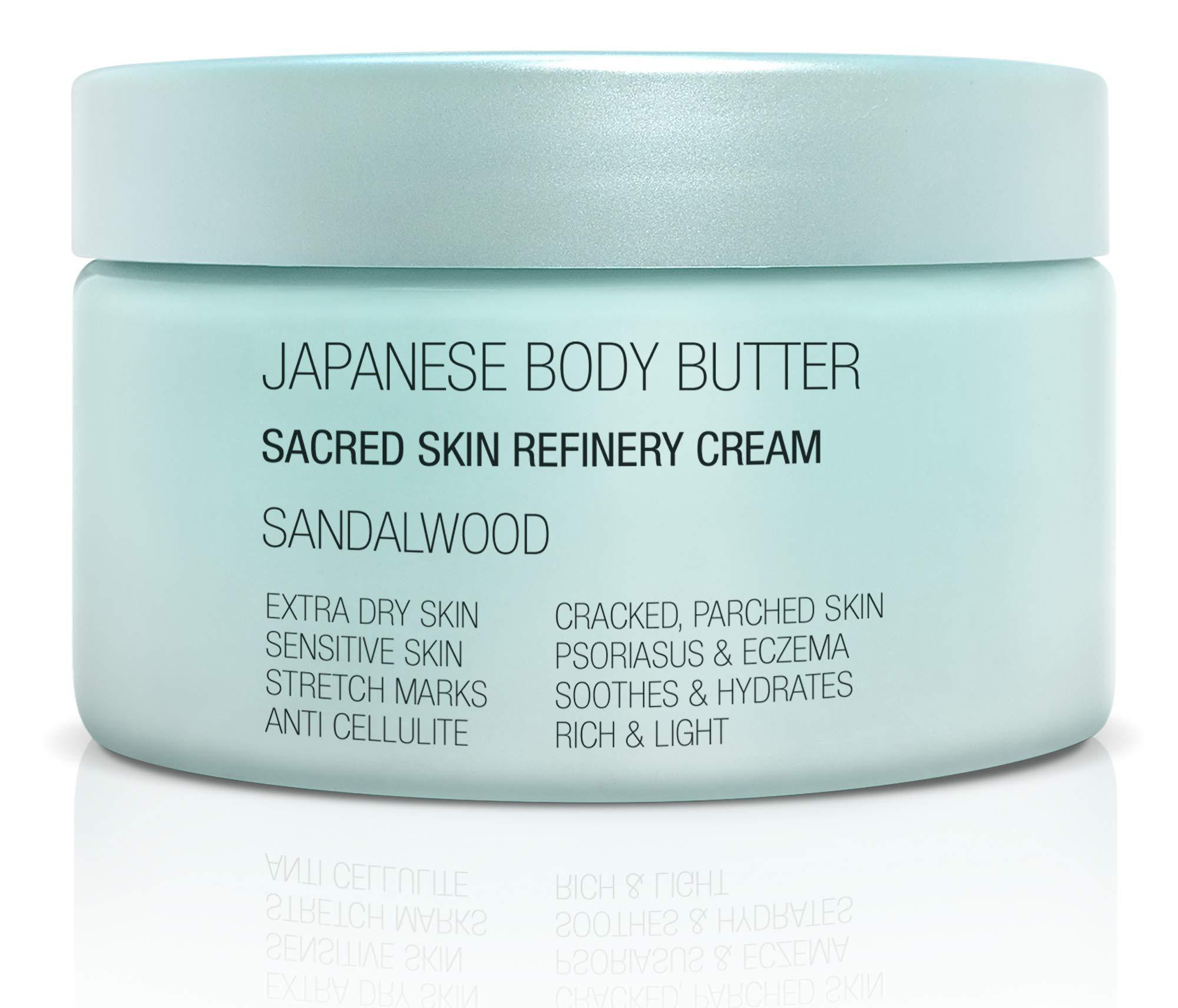 Onsen Secret Japanese Bodybutter Sandalwood Sacred Skin Refinery Cream