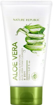 Nature Republic Soothing & Moisture Aloe Vera Foam Cleanser