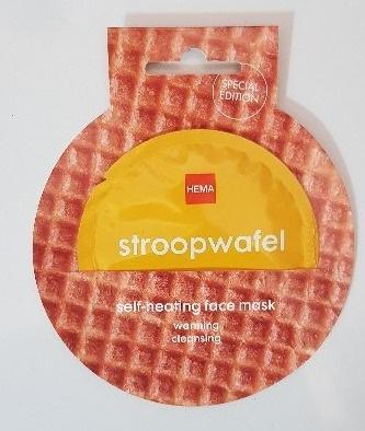 Hema Stroopwafel Self-Heating Face Mask