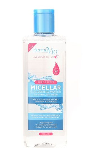Derma V10 Pure Effect Micellar Cleansing Water