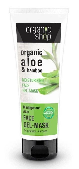 Organic Shop Organic Aloe & Bamboo Face Gel Mask