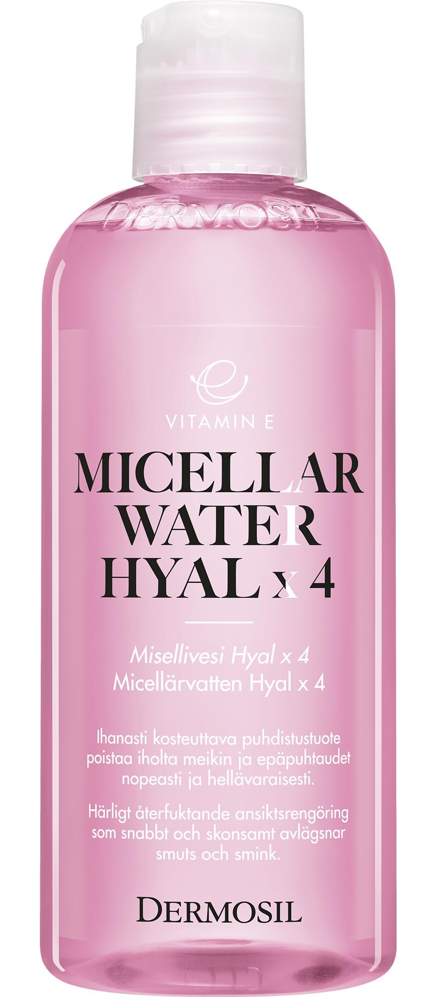 Dermosil Vitamin E Micellar Hyal X 4