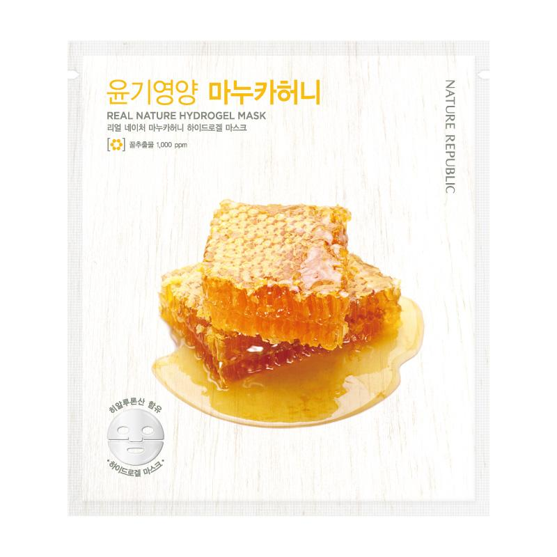 Real Nature Manuka Honey Hydrogel Mask