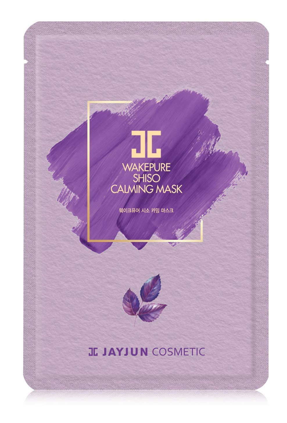 Jayjun Cosmetic Wakepure Shiso Calming Mask