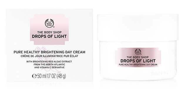 Body Shop Drops Of Light Brightening Day Cream