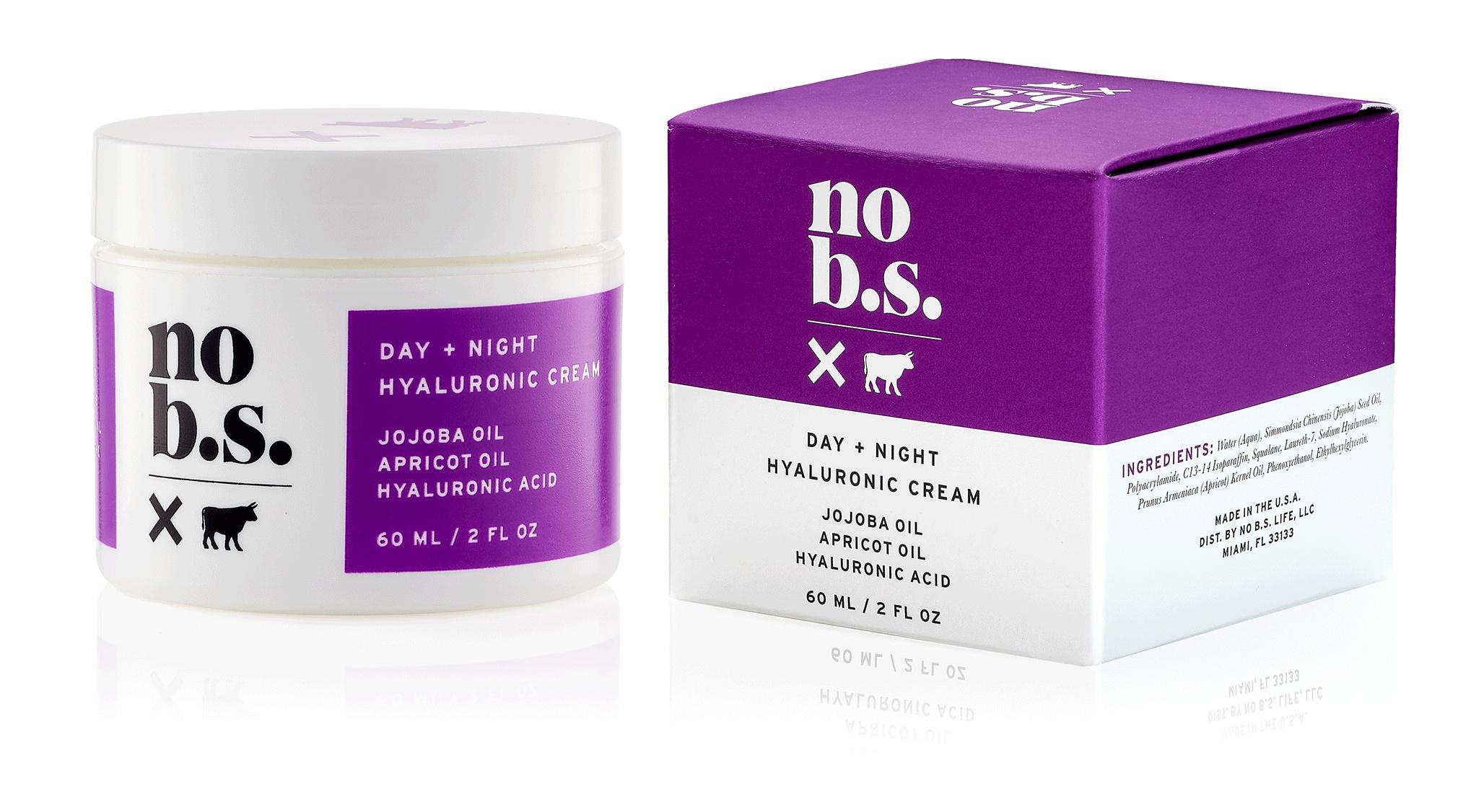 No B.S. Day + Night Hyaluronic Cream