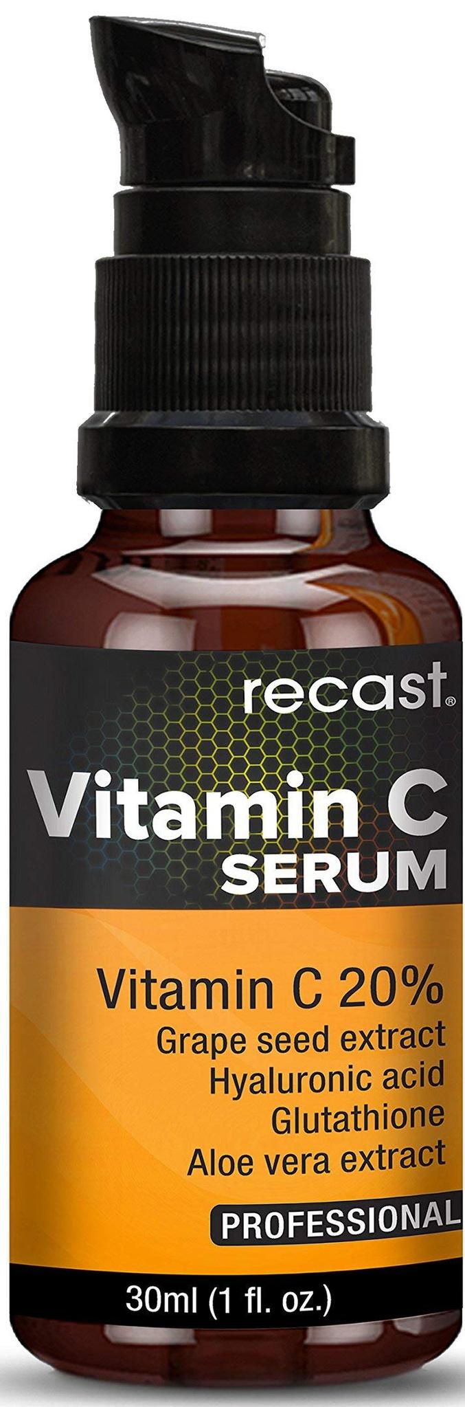 Recast Vitamin-C Face Serum With Hyaluronic Acid
